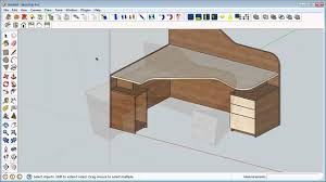 sketchup furniture design home interior design