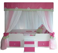 Pink Canopy Bed Bedroom Living In A Story Tale With Canopy Bed Tops Canopy Bed