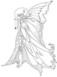 free fairy coloring pages adults bing images wood burning