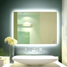 Bathroom Mirror With Built In Light Bathroom Mirror With Lights Built In India Vanity Medium