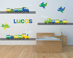 Fabric Wall Decals For Nursery Boy Wall Decal Etsy
