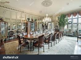 traditional dining room mansion stock photo 41904091 shutterstock