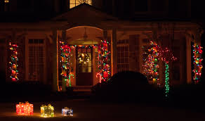 How To Hang Christmas Lights by Christmas Porch Decorations