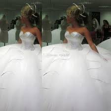 wedding poofy dresses 2014 bling bling big poofy wedding dresses custom made plus size