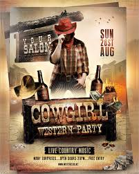 template flyer country free 27 western flyer templates free premium download country western
