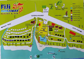 fiji resort map helpful map of the hotel grounds and layout picture of fiji