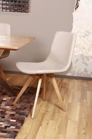 Esszimmerstuhl Cube Stuhl Cassy Sessel Esszimmerstuhl Grau Füße Holz