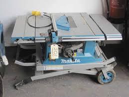 makita portable table saw farm machinery amp plant auctions auction catalogue makita gba