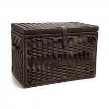 Decorative Trunks For Coffee Tables Furniture Rustic Wicker Trunk For Vintage Storage Ideas
