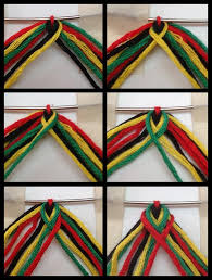 looms bracelet instructions images Fishtail bracelet friendship bracelet tutorial jpg