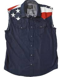 American Flag Jean Shorts Men Cody James Men U0027s Union American Flag Denim Shirt Country Outfitter