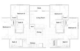 House Plans With Dimensions Modern Bedroomt Floor Plans Building House Plan With Dimensions