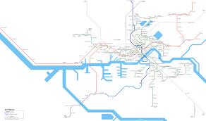 rotterdam netherlands metro map urbanrail net rotterdam tram metro network map