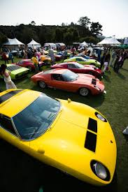 lamborghini classic automobili lamborghini heralds future celebrates past at monterey