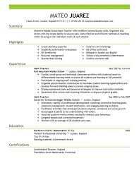 Best Teacher Resume Templates by Prissy Inspiration Education Resume Template 1 Best Teacher Resume