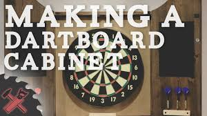 Dart Board Cabinet Plans Building A Dartboard Cabinet Youtube