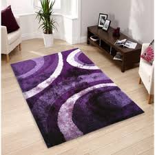Purple And Black Area Rugs 3d Shaggy 800 Abstract Wave Purple Area Rug 5 X 7 Free