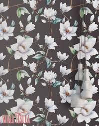 cherry blossom wallpaper removable wallpaper asian flowers