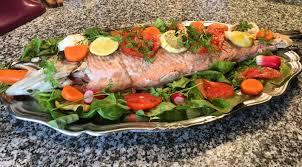 comment cuisiner du saumon surgelé saveur indigo saumon frais cuit à la poissonnière