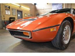 maserati orange 1974 maserati bora for sale classiccars com cc 900913