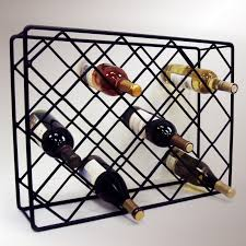 j u0026 j wire rectangle diamond wine rack hayneedle