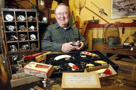antique fishing tackle is just one of the lures to grand rapids
