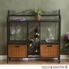holly u0026 martin petaluma baker u0027s rack with wine storage 59 195 006 5 16