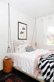 bedroom tiny bedroom ideas gray bedding pillows modern pendant