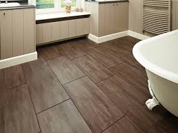 bathroom floor ideas vinyl brown sheet vinyl flooring bathroom best design ideas wood tile