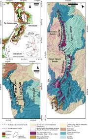 Map Of Calabria Italy by Structural And Geomorphological Constraints On Active Normal