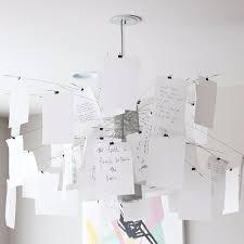Paper Pendant Lights Modern Design Bang Boom Decoding Art Diy Paper Pendant Lamp