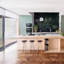kitchen style inspiring wooden floors decor with white