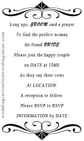 Wedding Invitation Wording From Bride And Groom Wedding Invitation Wording Given By Couple Wedding Invitation