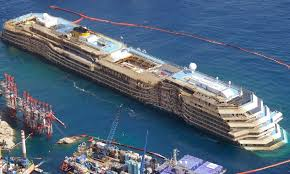 carnival paradise cruise ship sinking costa concordia disaster cruisemapper