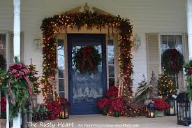 front porch christmas decorations christmas decorating ideas for you intended for front porch