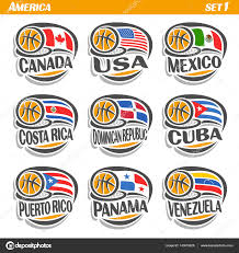 Similar Flags American Flags Squared Icons U2014 Stock Vector Lucaluppi 25180123