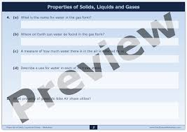 properties of solids liquids and gases u2013 interactive digital