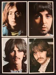 Album Inserts Lot Detail The Beatles Lot Of 4 1968 7 U201d X 10 U201d Color