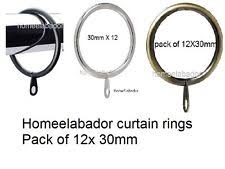 Drapery Clips Without Rings Curtain Ring Clips Ebay