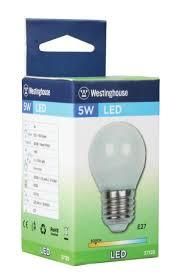 westinghouse g45 5 watt 40 watt equivalent e27 base warm white