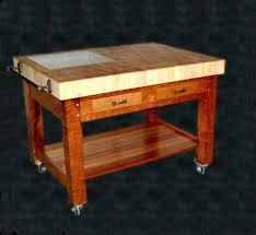 Diy Butcher Block Table Tops Making Butcher Block Table Tops by How To Make An End Grain Butcher Block Table Chefs Custom Wood