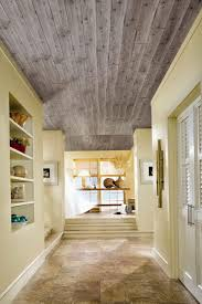 wood plank ceiling installation home design ideas