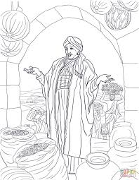 parable of the rich fool coloring page free printable coloring pages