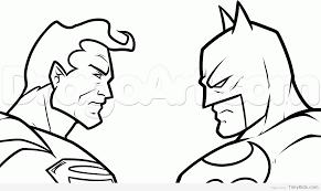 batman vs superman coloring pages timykids