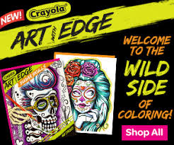 art with edge coloring pages crayola com