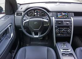 Discovery Interior 2016 Land Rover Discovery Sport Hse Si4 Road Test Review