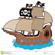 pirate ship vector royalty free stock photos image 25207578