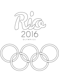 rio 2016 olympics coloring free printable coloring pages