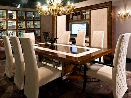 High End Dining Room Furniture Chair Luxury Modern Glass Dining Table Tedxumkc Decoration Room