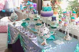 mermaid baby shower fresh mermaid baby shower table decorations decorating ideas 2018